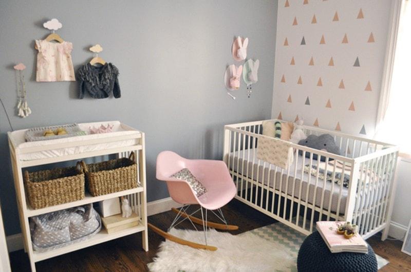 Déco de la chambre bébé fille : les meilleures idées de décoration !