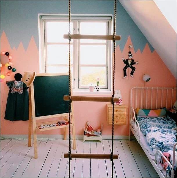 peinture originale chambre enfant