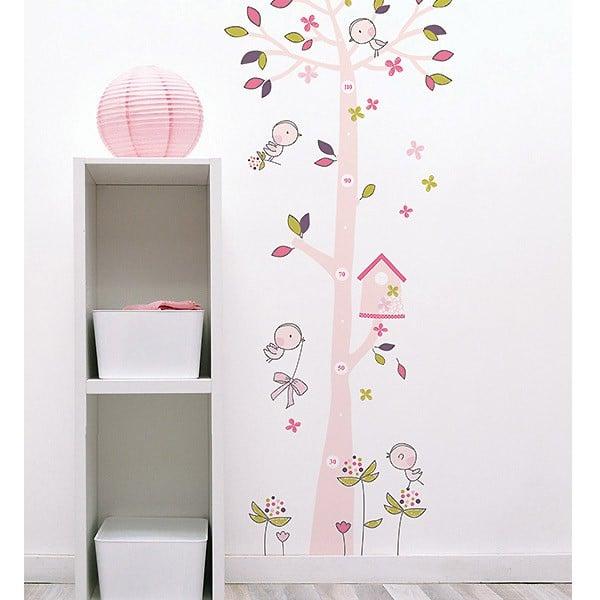 sticker mesure enfant mural deco chambre enfant