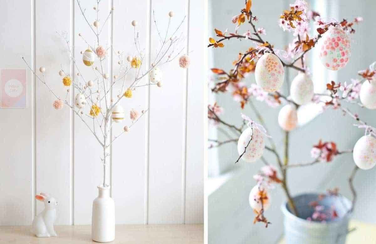 Déco Printemps À Faire Soi Même bricolage de pâques : 42 idées déco à fabriquer soi-même