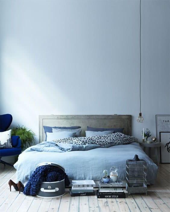 Agreable Chambre Bleu Ciel ©