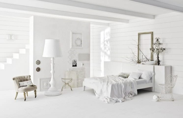 Chambre cocooning blanche