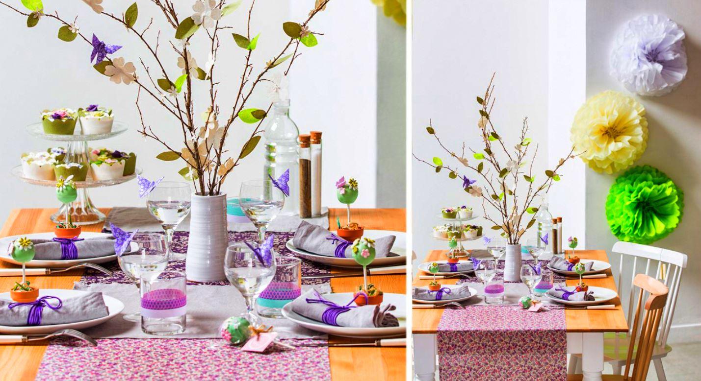 Photophore À Faire Soi Même décoration de table pâques : 35 idées déco pour impressionner !