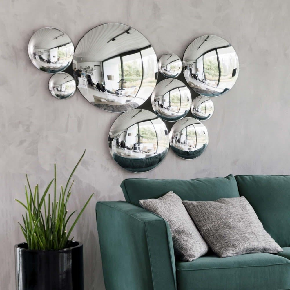 Ensemble de 9 miroirs
