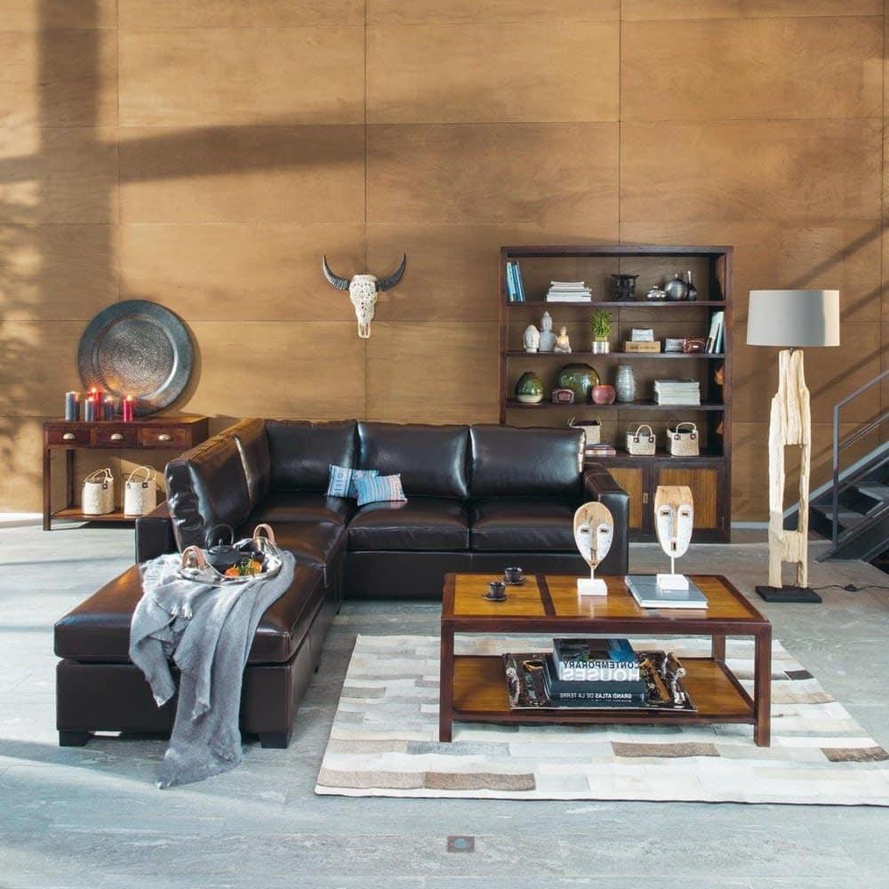 Lampadaire bois et niche