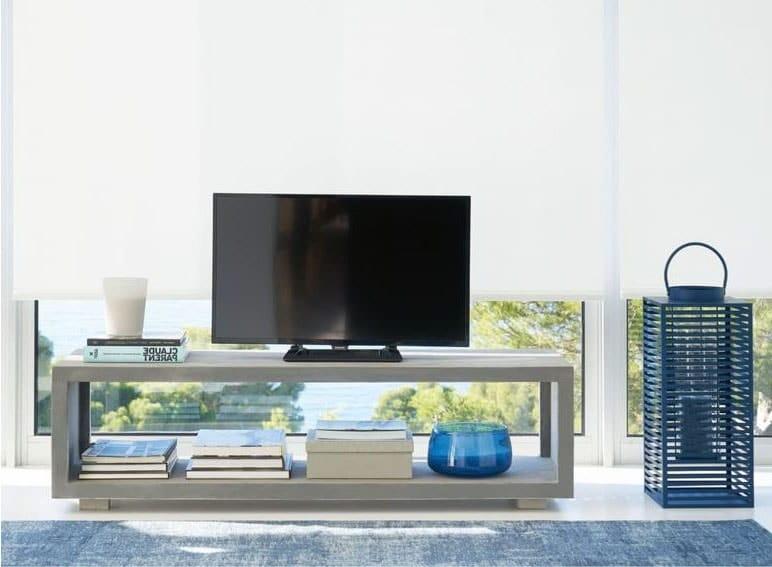 Meuble TV aspect béton