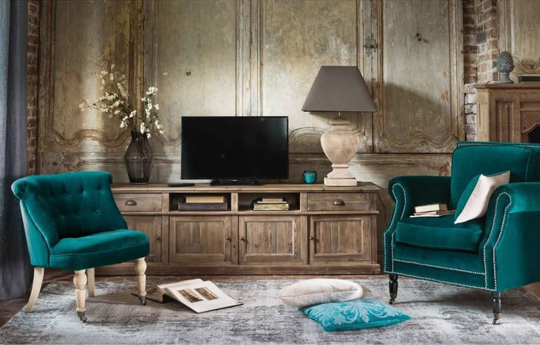 Meuble TV rustique classique