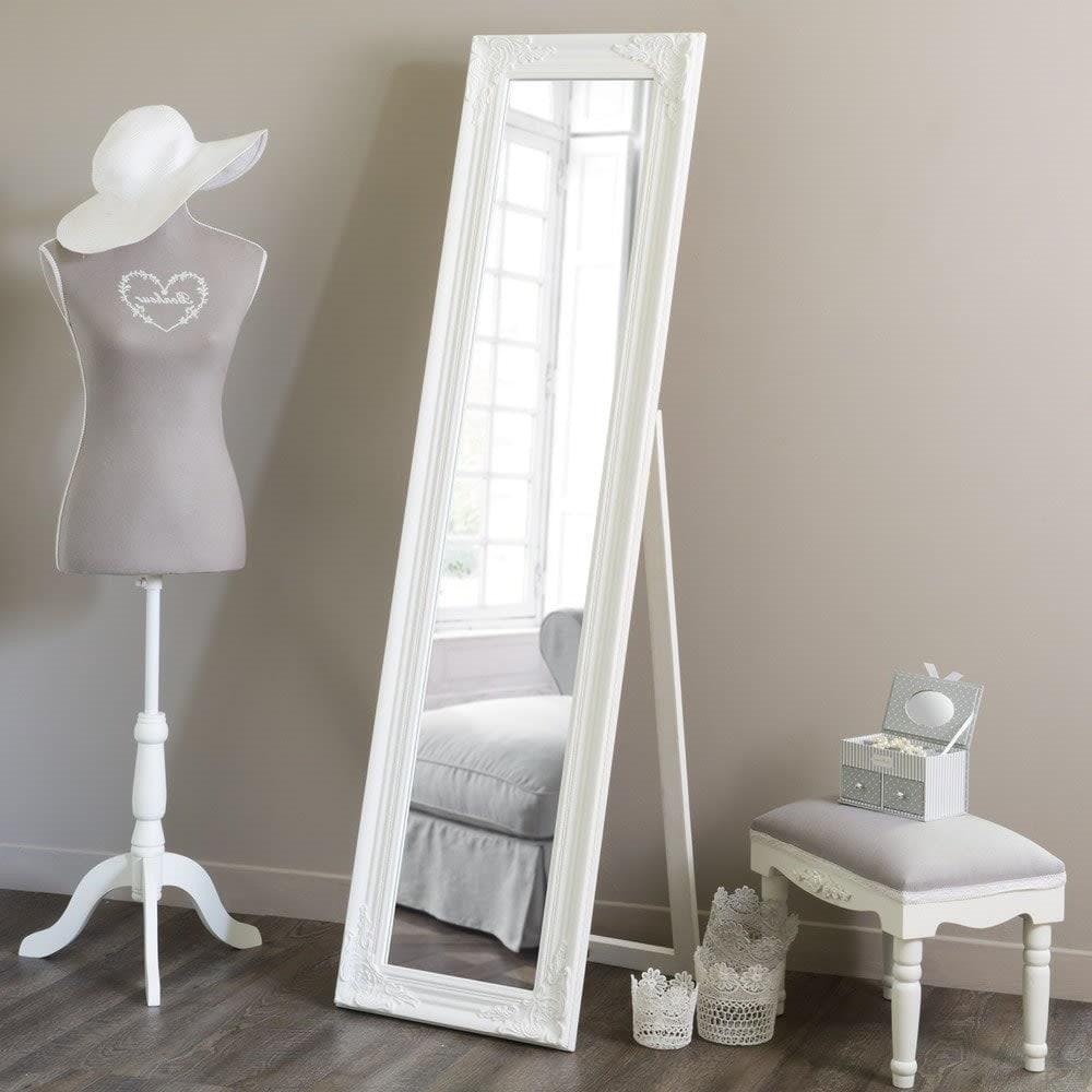 Miroir Psyché baroque