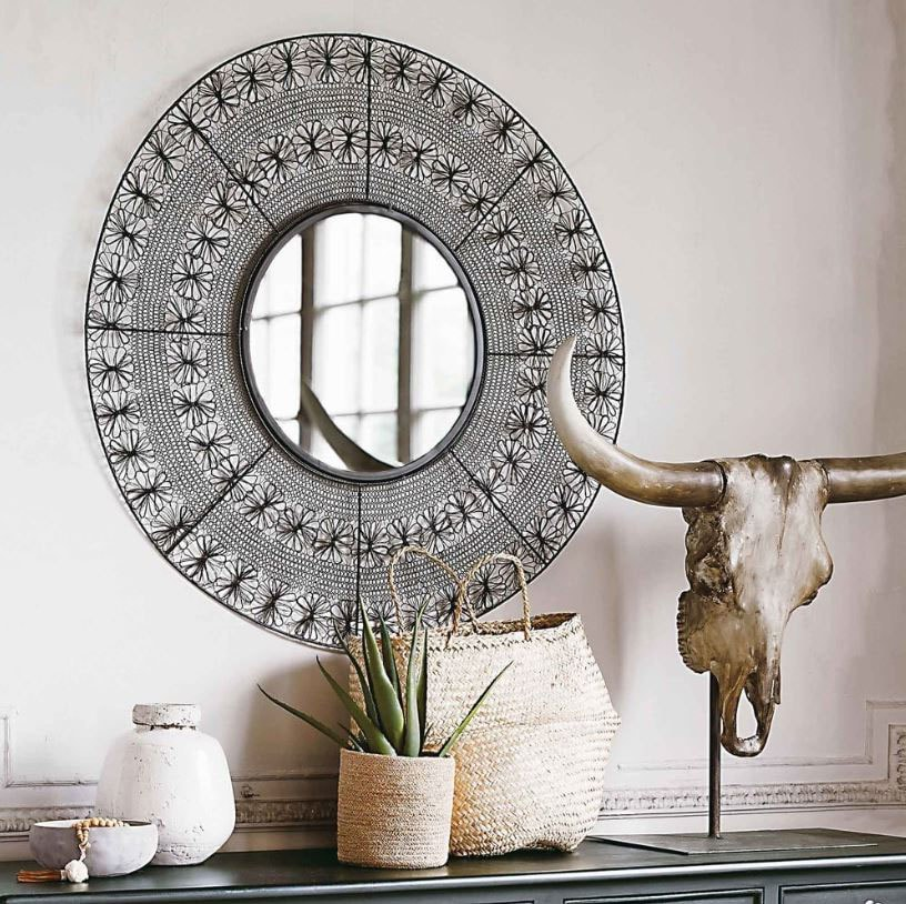 Miroir Maisons du Monde : 28 modèles de miroirs pour votre intérieur ...