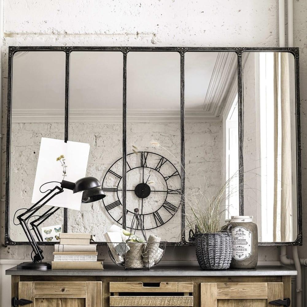Miroir style verrière