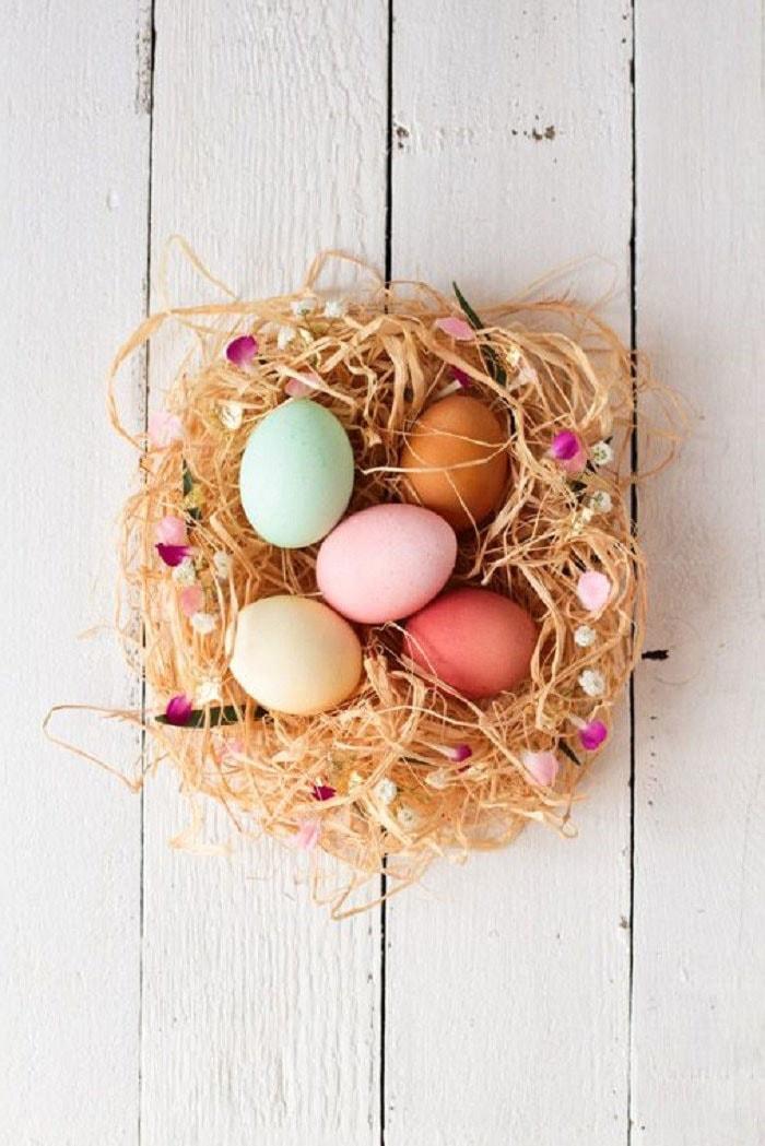 Nid d'œufs de Pâques