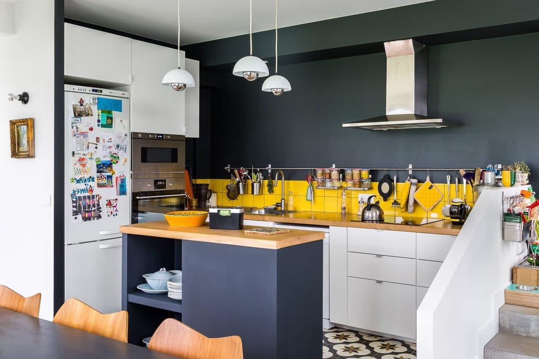 Ilot Central Petite Cuisine 23 petites cuisines avec ilot central : idées d'aménagement