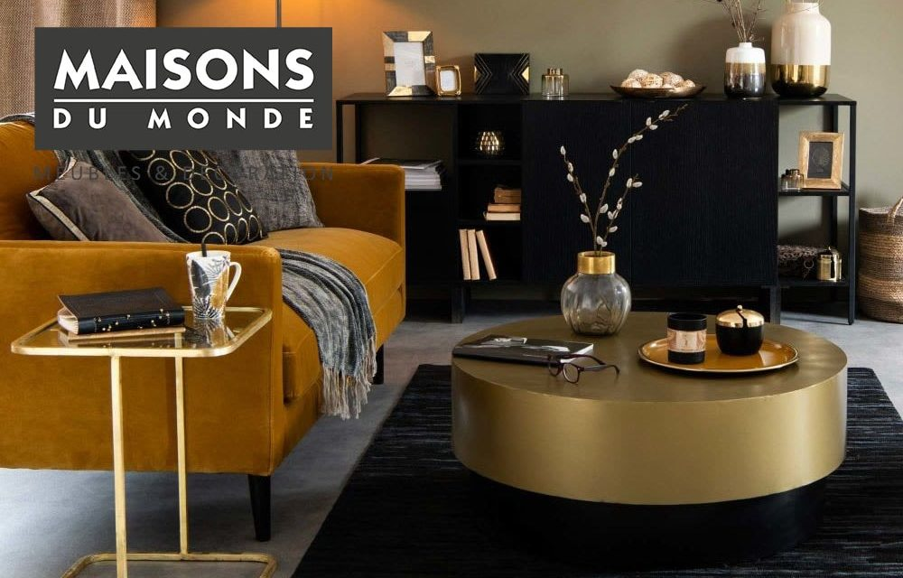 Table Basse Maisons Du Monde Notre Selection Pour Une Deco Reussie