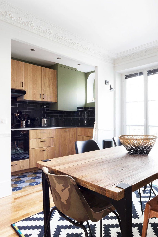 Ilot Cuisine Table A Manger cuisine ouverte sur salle à manger : 31 idées d'aménagement