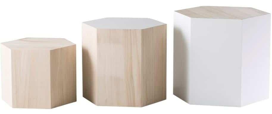 Tables gigognes bois