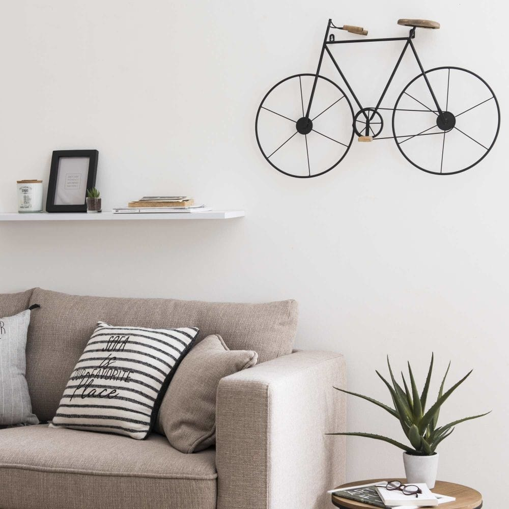 Vélo déco murale