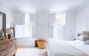 chambre cocooning blanc