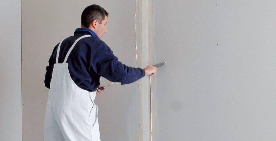 enduire un mur de placo