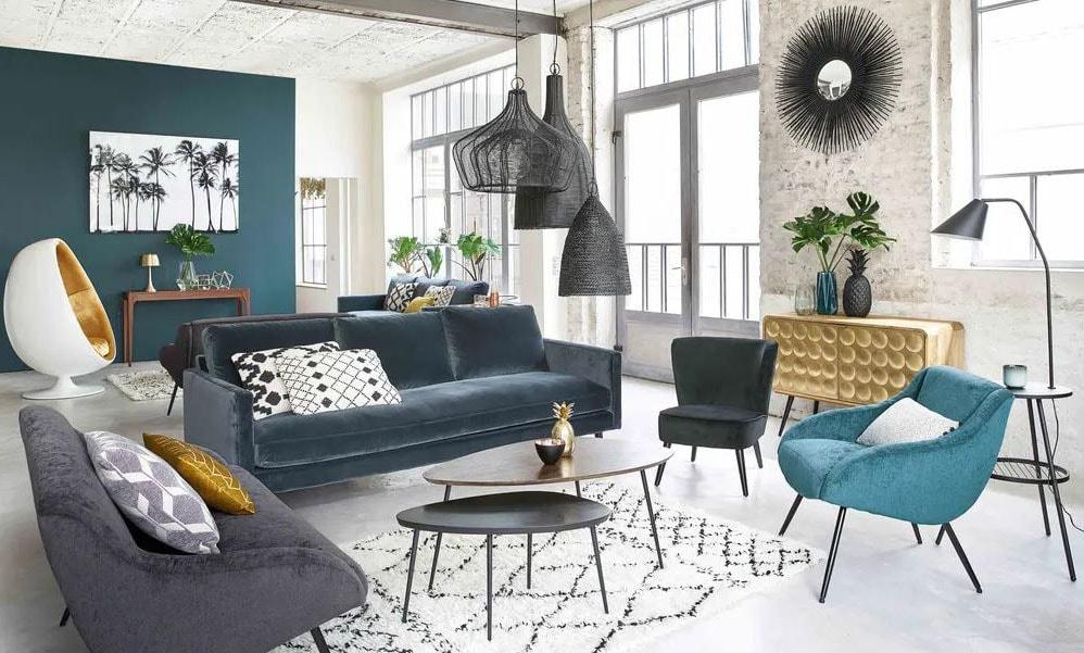 Fauteuil maison du monde les plus beaux mod les pour votre salon - Fauteuil baudelaire maison du monde ...