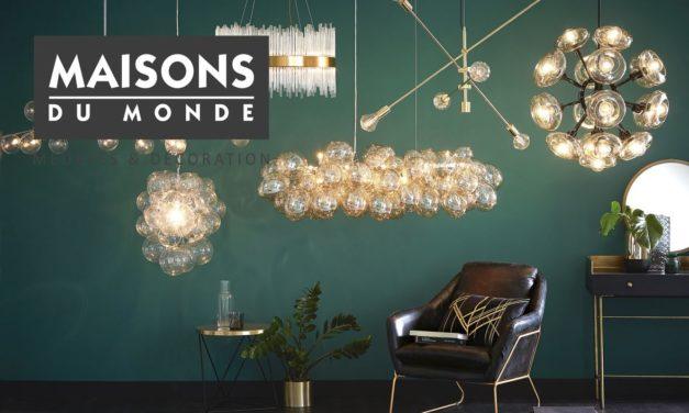 Lustre maisons du monde : 30 modèles de lustre pour vos plafonds