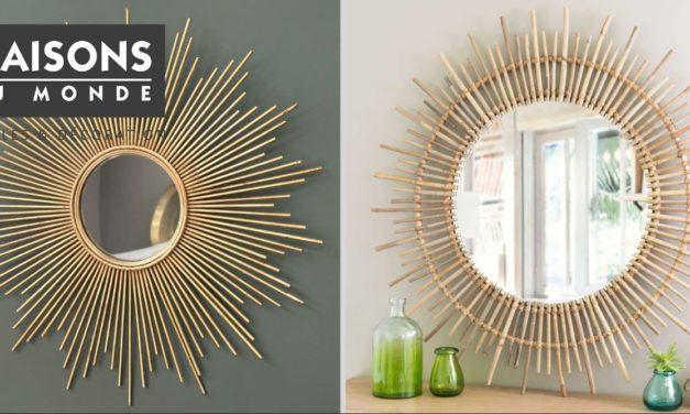 Miroir Maisons du Monde : 28 modèles de miroirs pour votre intérieur
