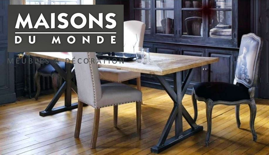 table manger maison du monde spartakiev. Black Bedroom Furniture Sets. Home Design Ideas
