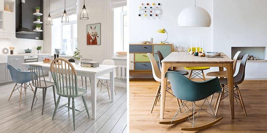 Chaises esprit Eames © Homelisty