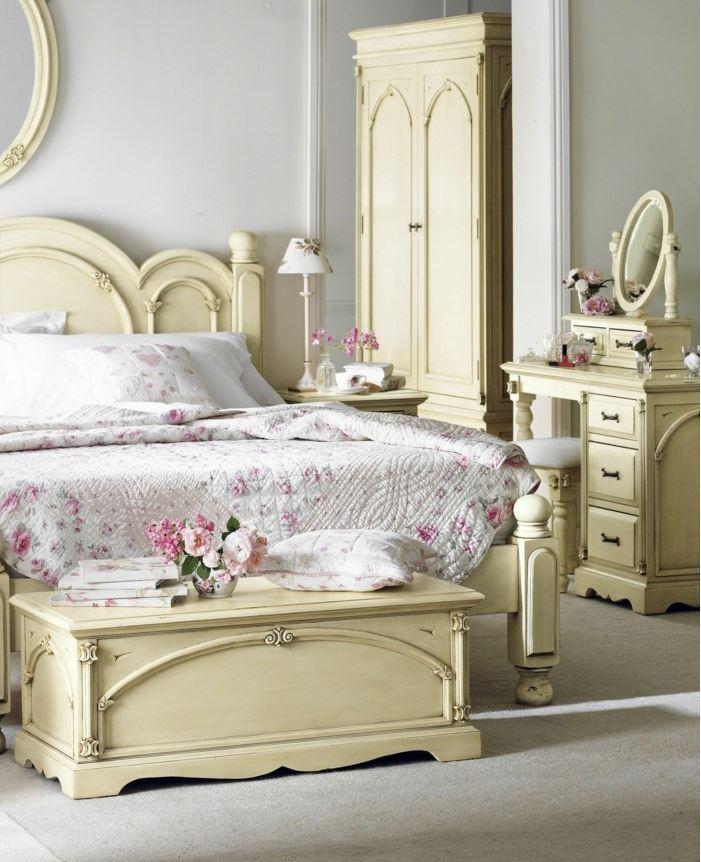 Chambre à coucher shabby
