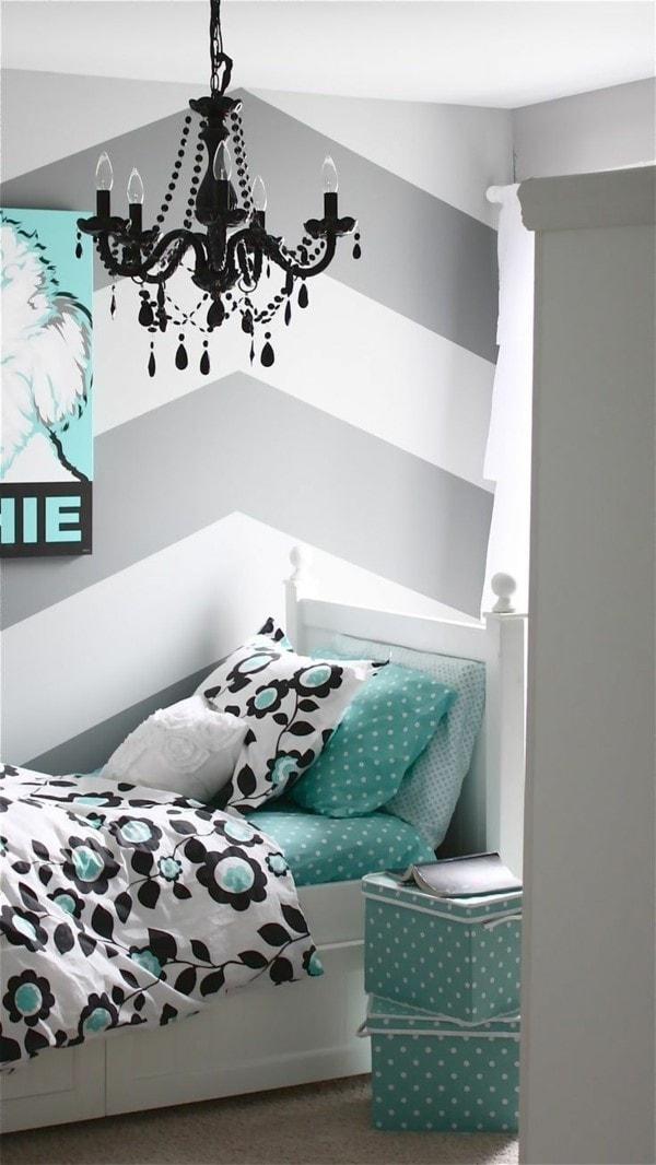 Chambre ado papier peint