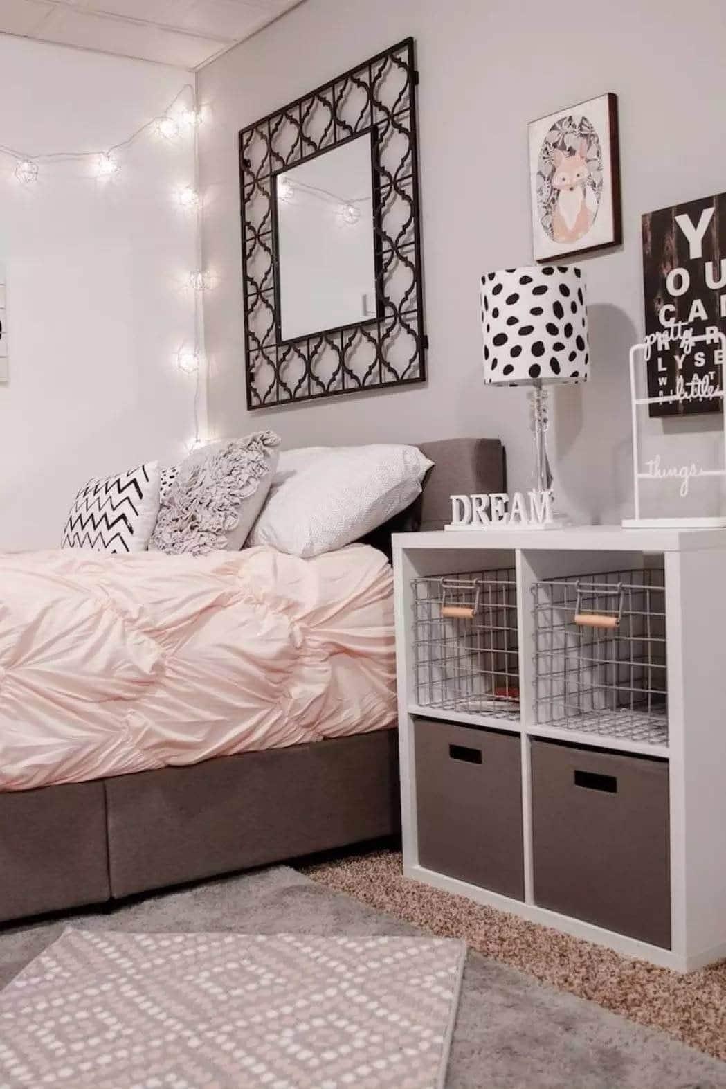Fantastique Chambre d'ado fille : 30 idées de décoration pour une chambre moderne UC-23
