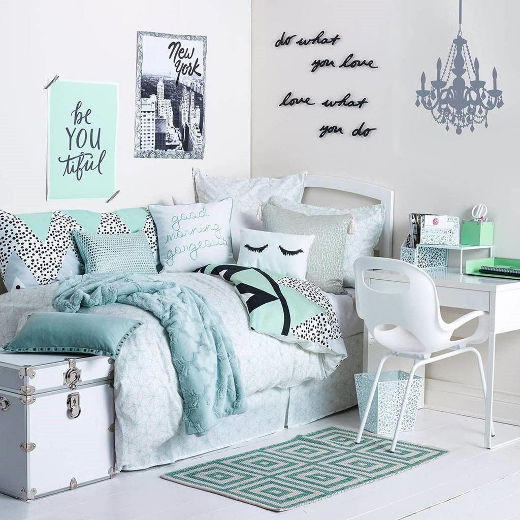 Chambre d\'ado fille : 30 idées de décoration pour une chambre moderne