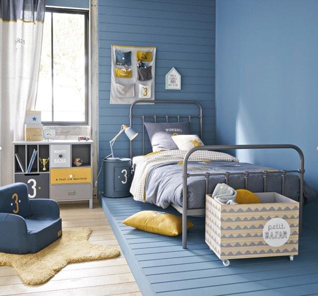 Chambre d'enfant bleu