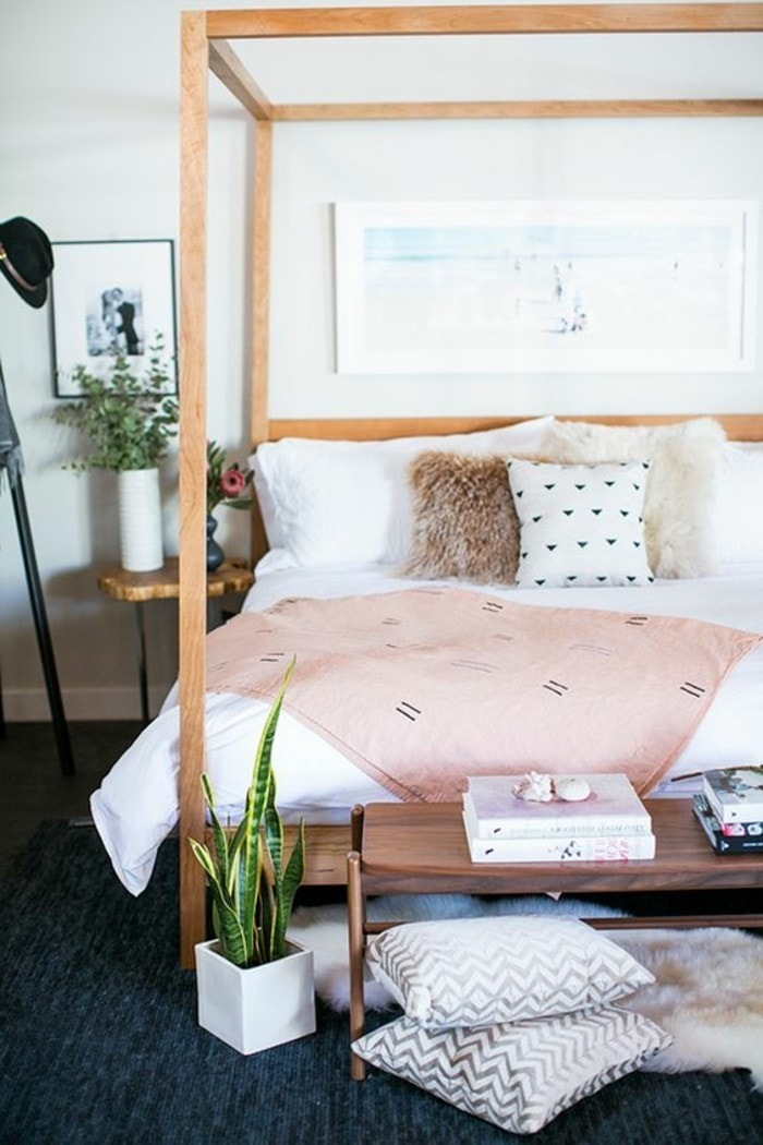 Chambre douce et girly