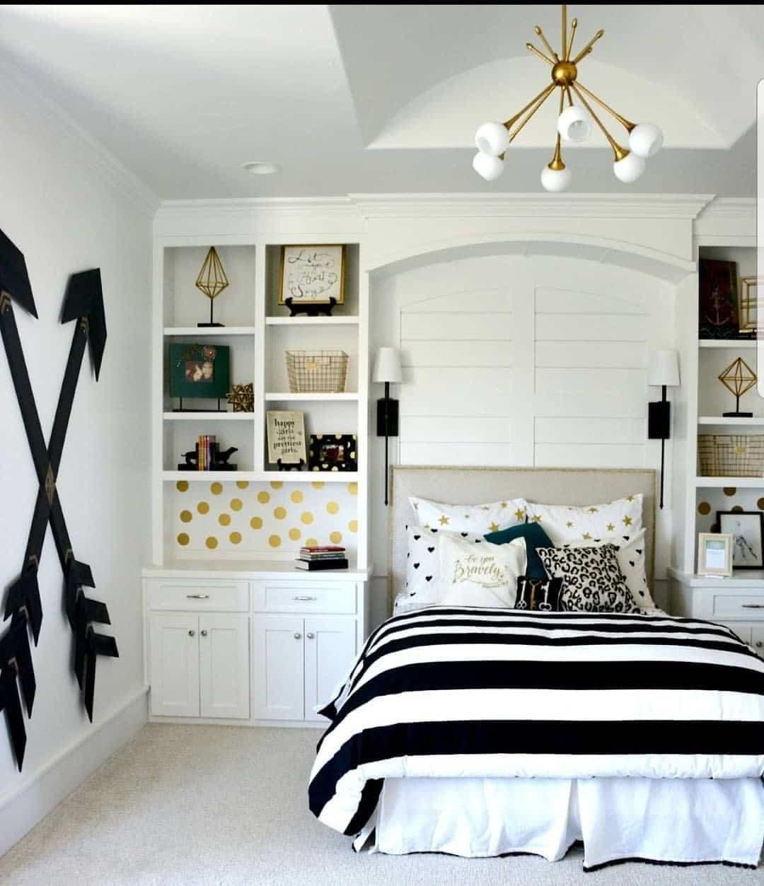Modele Chambre Fille Ado chambre d'ado fille : 30 idées de décoration pour une