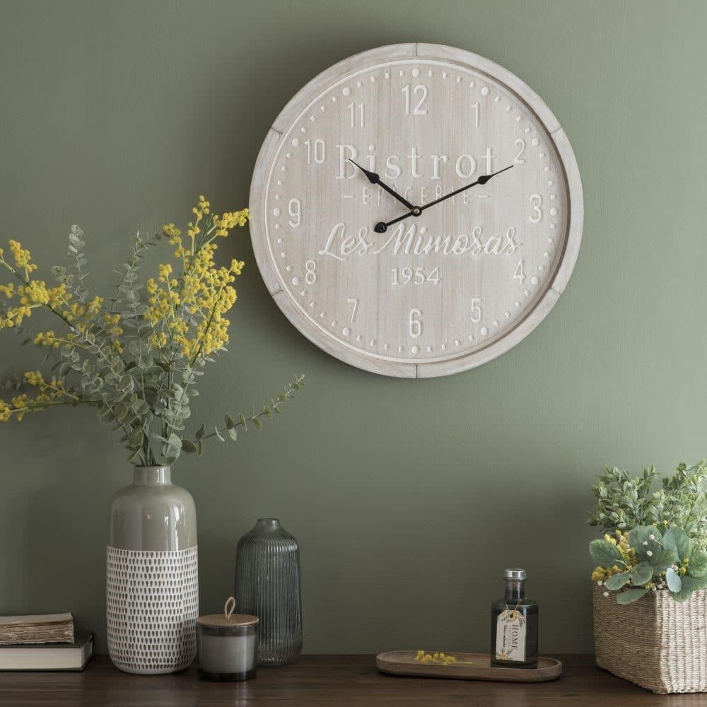 Horloge bistrot