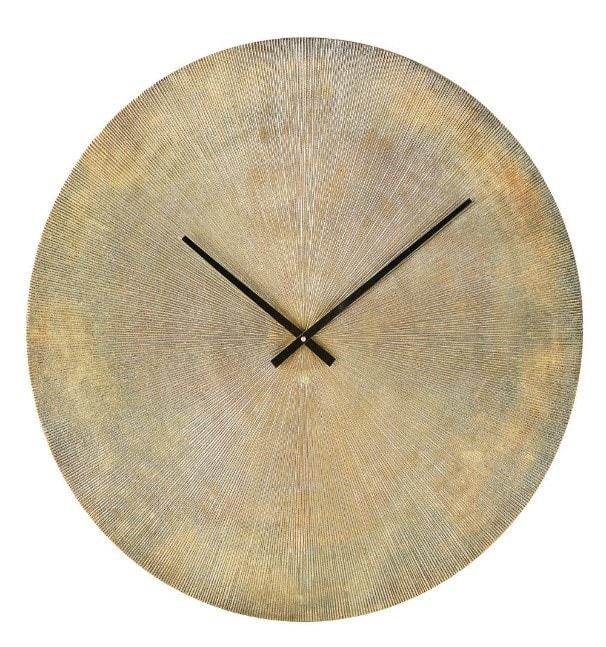 Horloge laiton strié