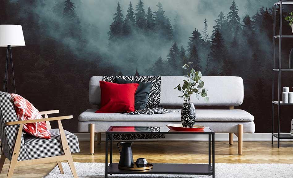 Jungle dans le brouillard