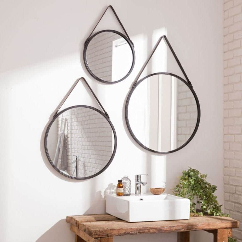 Salle de bain moderne 40 id es de salle de bain tendance - Leroy merlin salle de bain accessoires ...