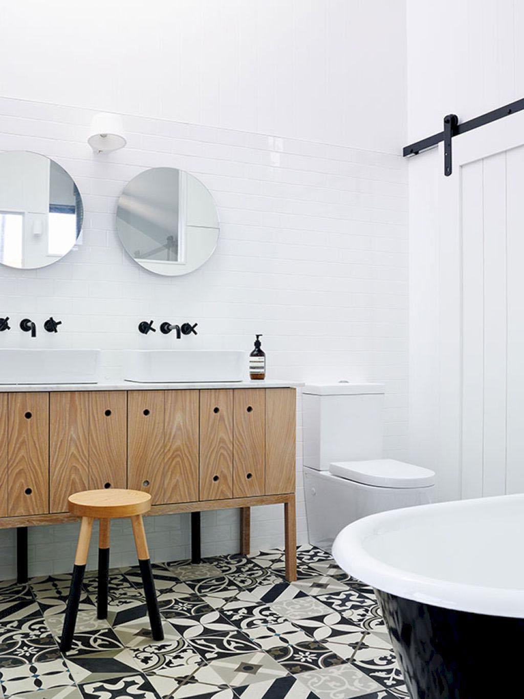Salle de bain esprit nordique