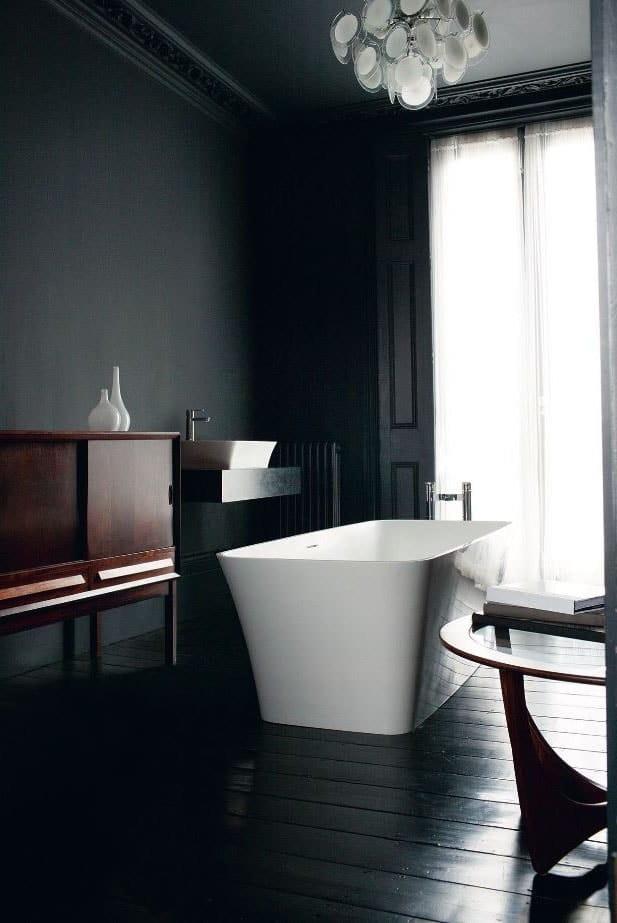 Salle de bain vintage