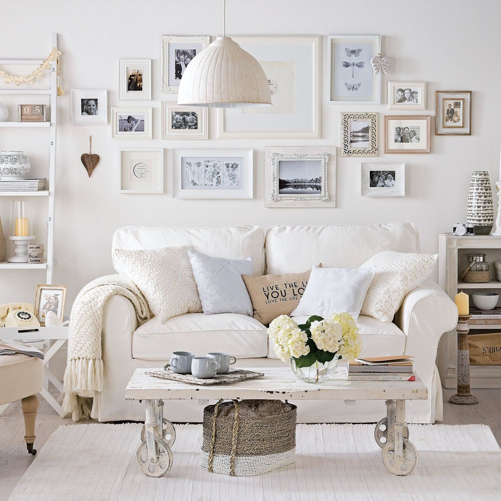 shabby chic 27 id es pour un style romantique. Black Bedroom Furniture Sets. Home Design Ideas