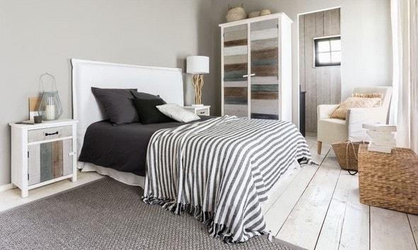 Tête de lit houssable