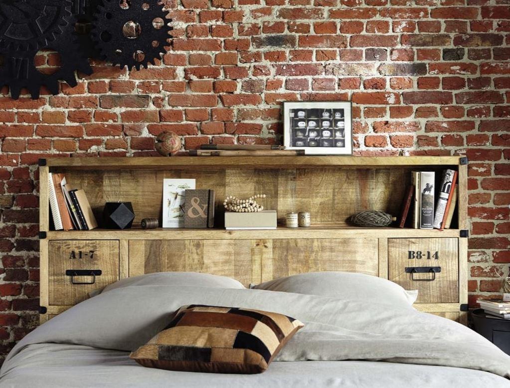 Tête de lit industrielle