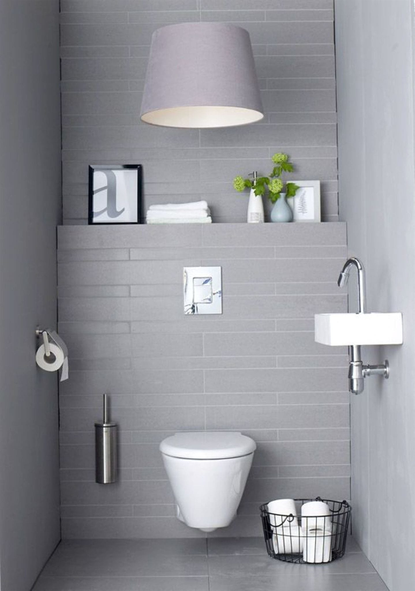 Toilettes gris