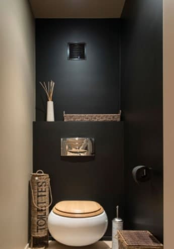 d co de toilettes originales 31 id es pour d corer vos. Black Bedroom Furniture Sets. Home Design Ideas