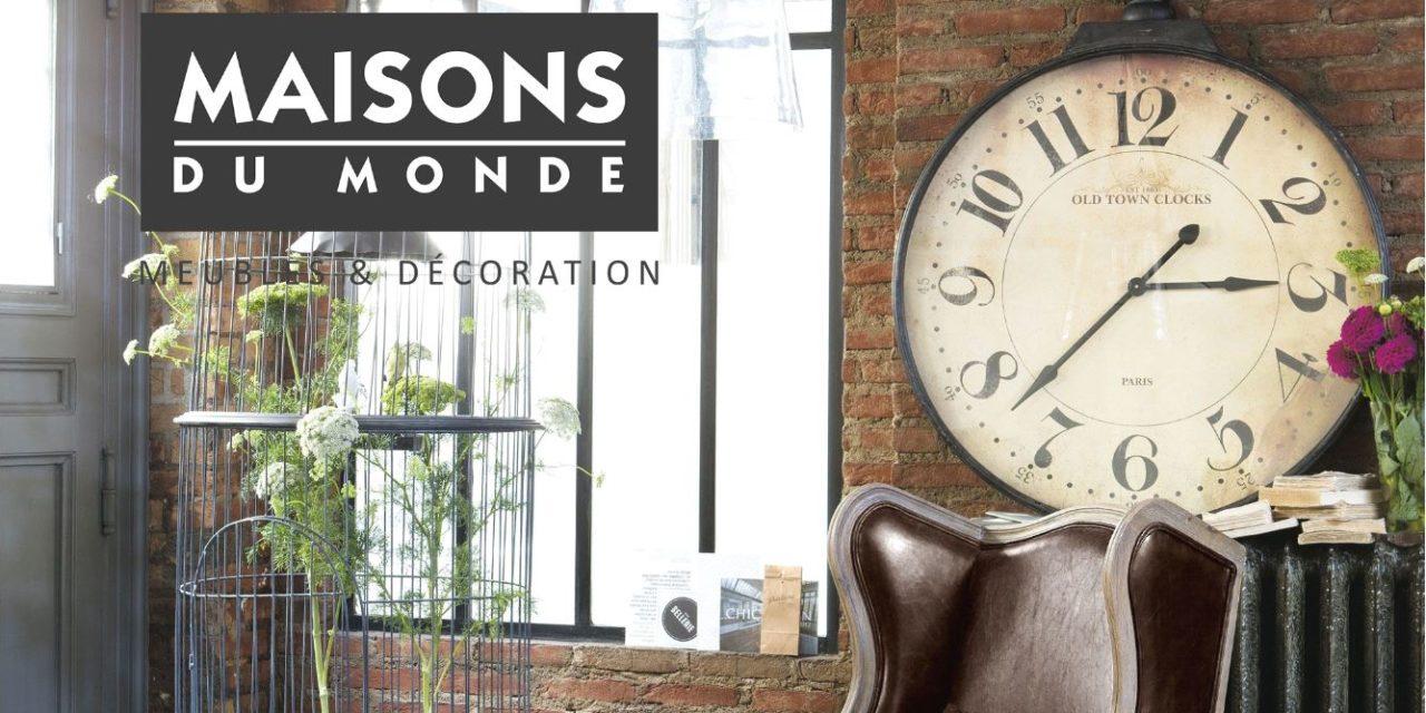 Horloge murale Maisons du Monde : 28 modèles d'horloges pour votre intérieur