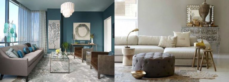 2 exemples de couleur taupe