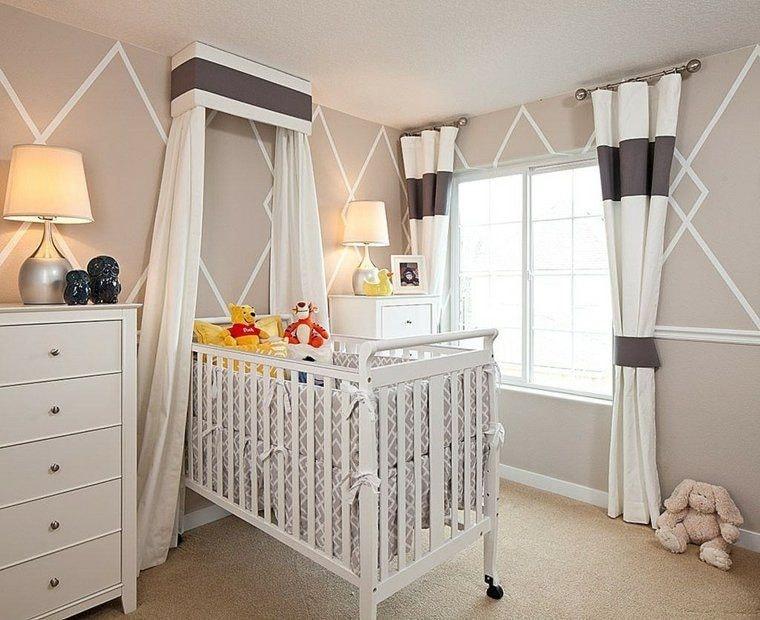 Chambre bébé base lin