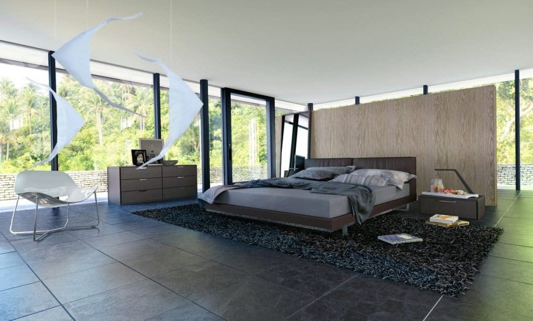 Chambre contemporaine et design