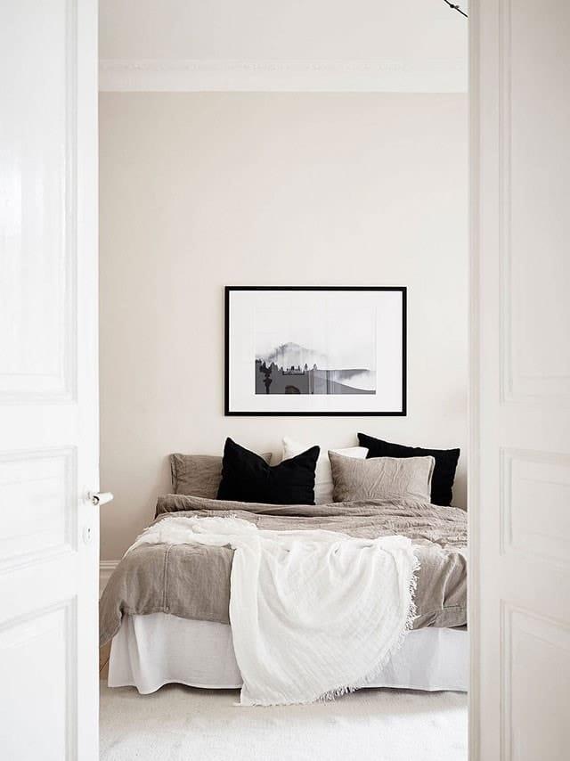 Chambre douce lin